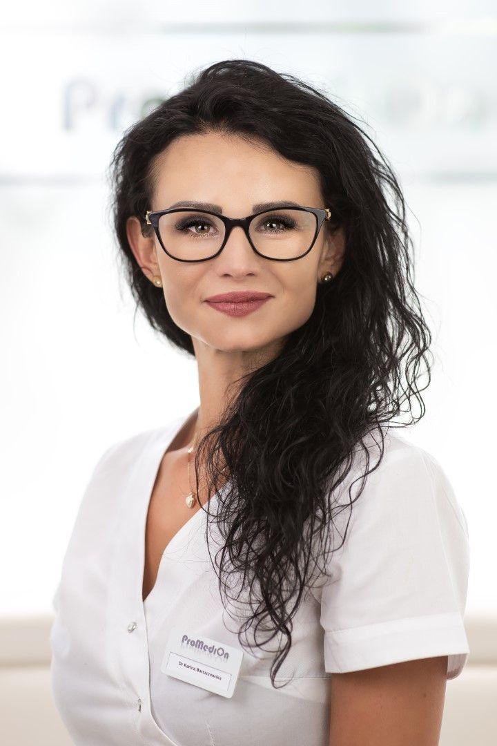 Dr Karina Barszczewska - specjalista ginekologii i położnictwa dyplomowany lekarz medycyny estetycznej