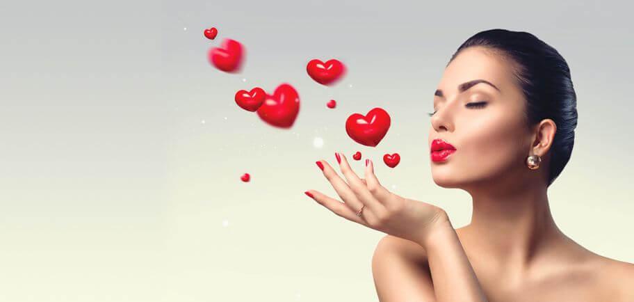 Bądź piękną Walentynką